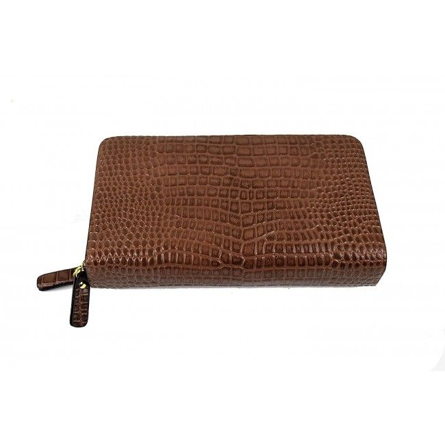 Leather Hand Wallet, Leather Wallet with Coin Pocket, Leather Wallet 1