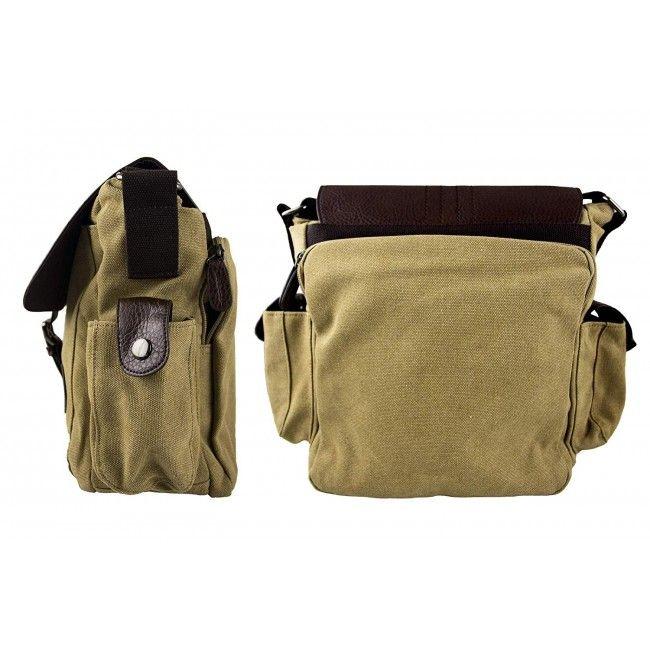 Bolso maletin de bandolera estilo vintage 28x25x14 cm.