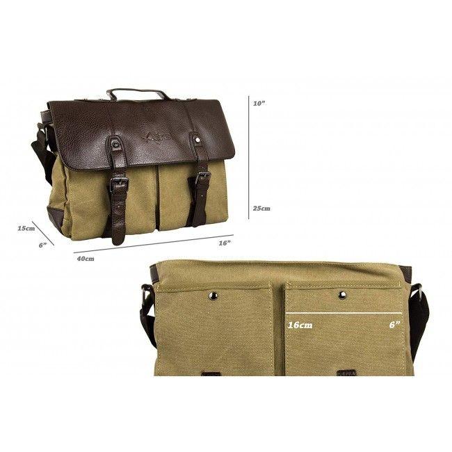 Shoulder Bag, Messenger Bag, Satchel Bag Laptop, Canvas Shoulder Bag 3