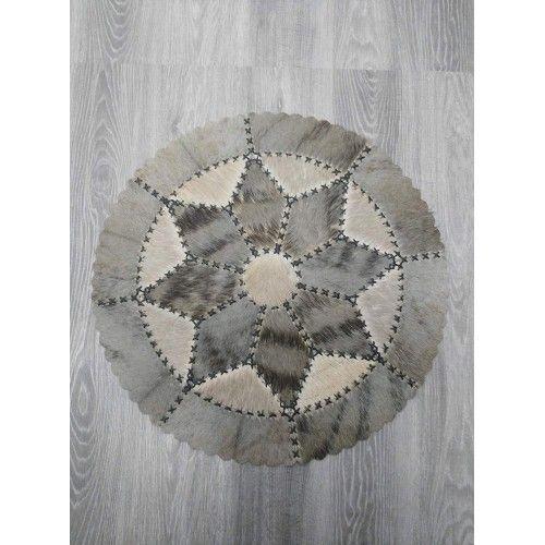 Exotischer Teppich aus Gnus...