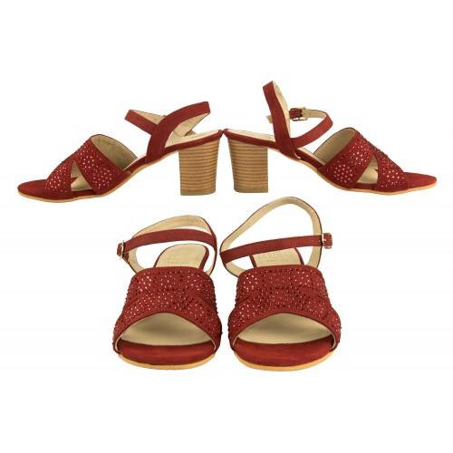 Sandalias brillantes de...