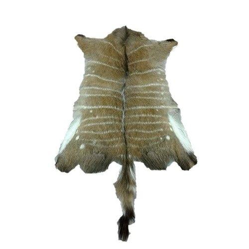 Dywan skórzany Nyala, 90x75...