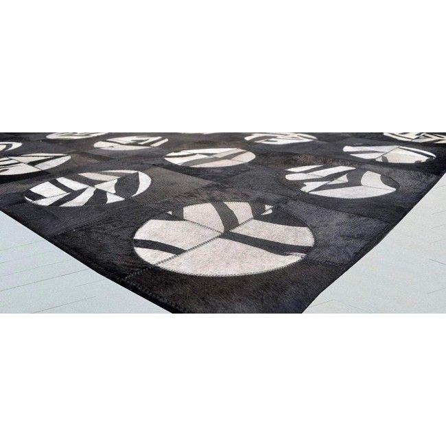 Alfombra Patchwork piel de vaca 243x300 cm
