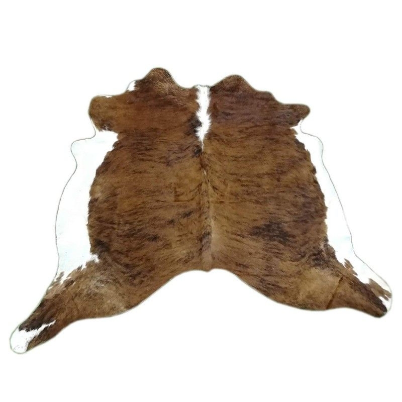 Cowhide Area Rug, 62x88 in, Area Rug Living Room, Natural Carpets