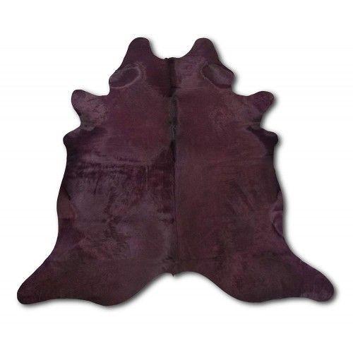 Fioletowy dywan ze skóry...