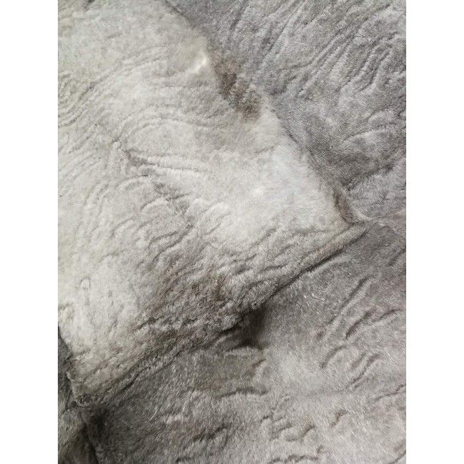 Rabbit Fur Blanket, 64x20 in, Bed Blanket, Winter Blanket