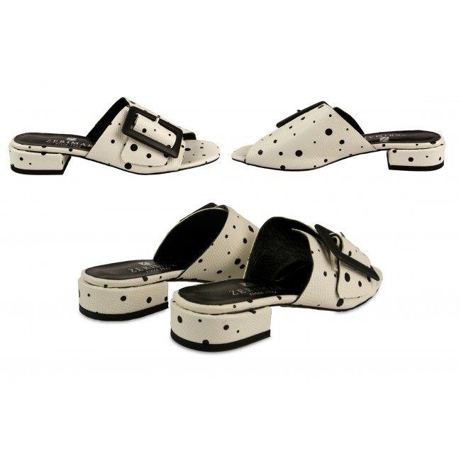 Sandalias de piel Modelo Hepburn con hebilla