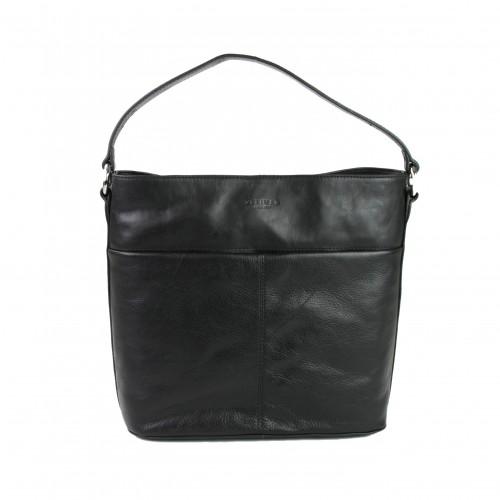 Bolso de mano hecho de piel...