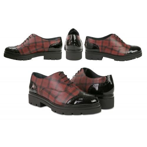 Zapatos oxford de piel a...