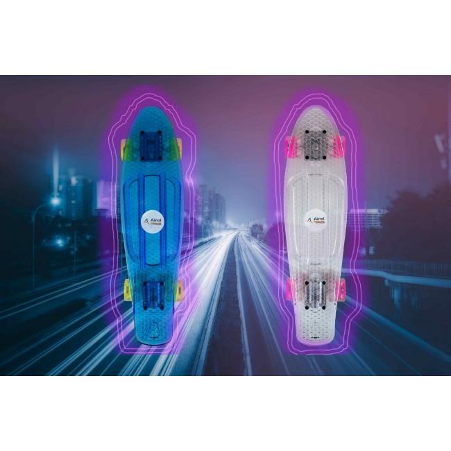 Skateboard monopatin con tabla antideslizante y ruedas suaves