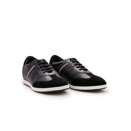 Sneakers de piel con alzas...