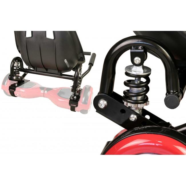 Hoverkart Metal - Asiento de Hoverboard PRO- Medidas: 55x47x20 cm