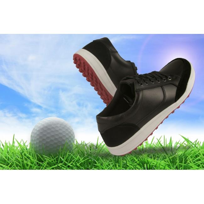 Zapatos de Golf de piel para hombre color azul marino