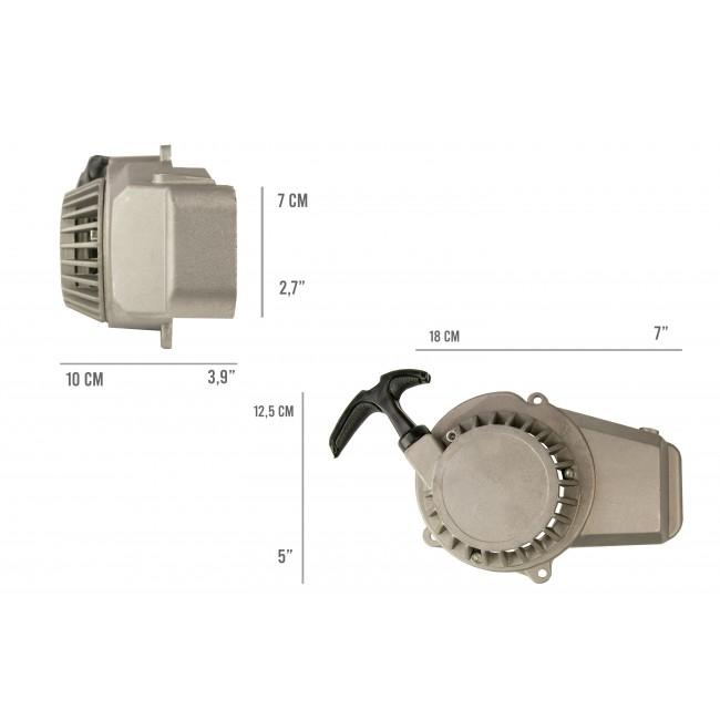 Arrancador de Retroceso de Arranque para 2 Tiempos 47cc 49cc