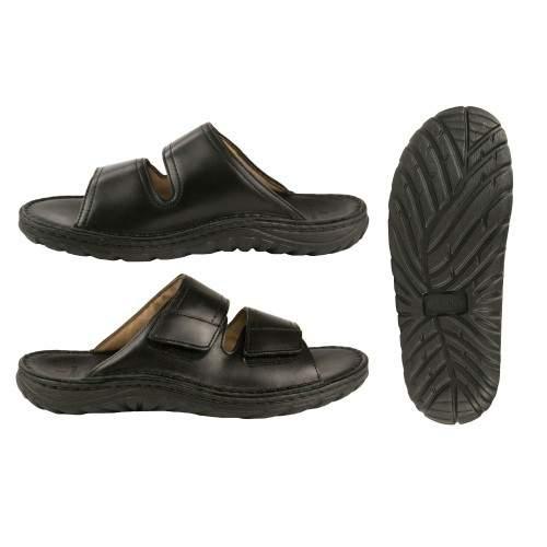 Sandalia de piel modelo...